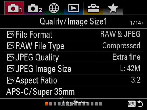 Sony A7RIII menu english-1