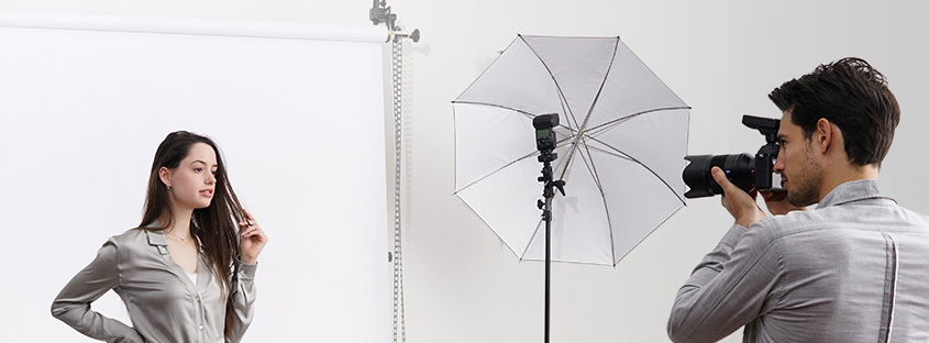 wireless flash with umbrella
