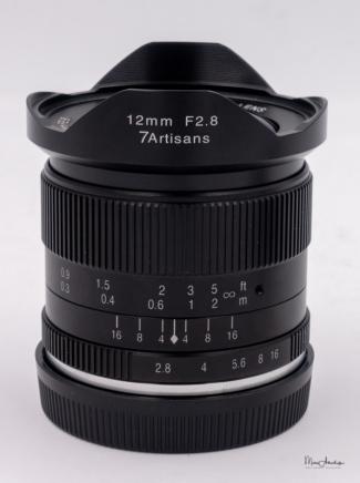 7Artisans 12mm F2.8-3