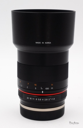 Samyang 85mm F1.8 ED UMC CS-02
