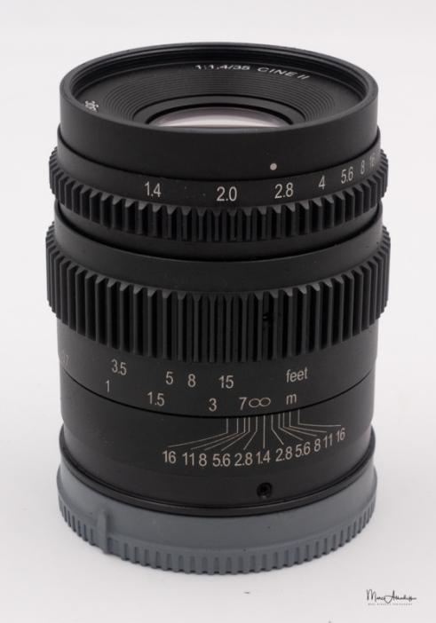 SLR Magic 35mm T1.4-1