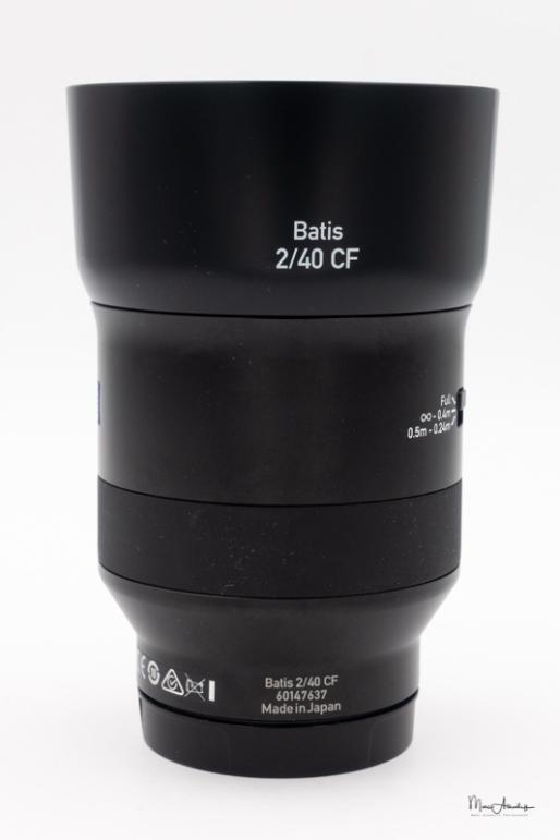 Zeiss Batis 40mm F2 CF-101