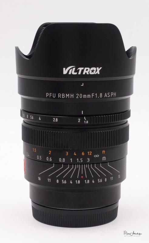 Viltrox PFU RBMH 20mm F1.8-1