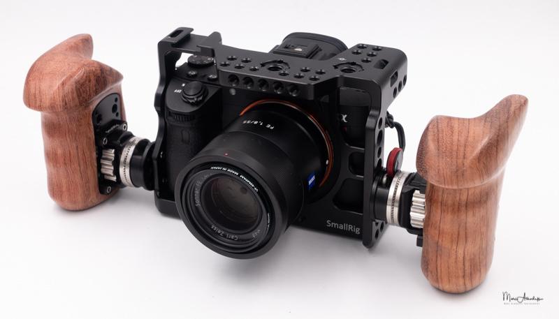 SmallRig Wooden handle-011