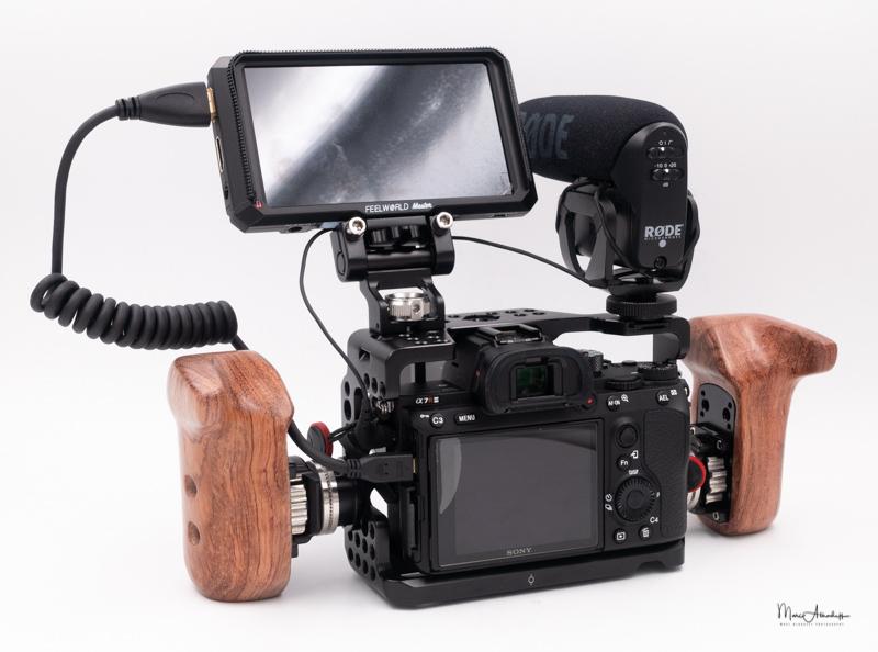SmallRig Wooden handle-013