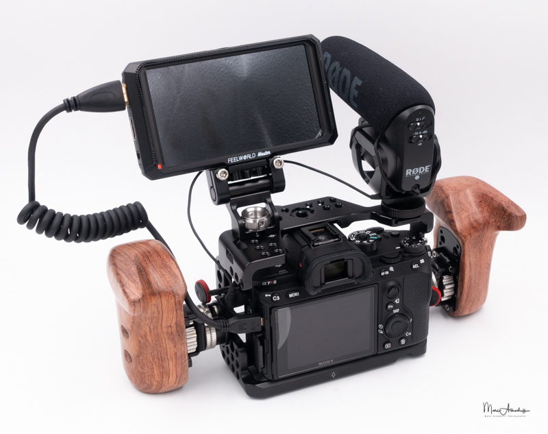 SmallRig Wooden handle-014